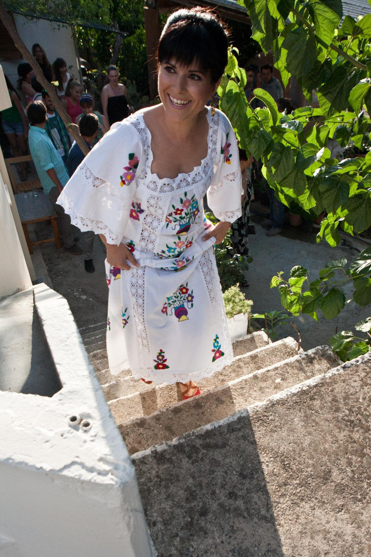 Handmade Mexican Dress From Aida Coronado Vintage Mexican