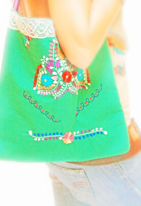Mexican Embroidered Bag