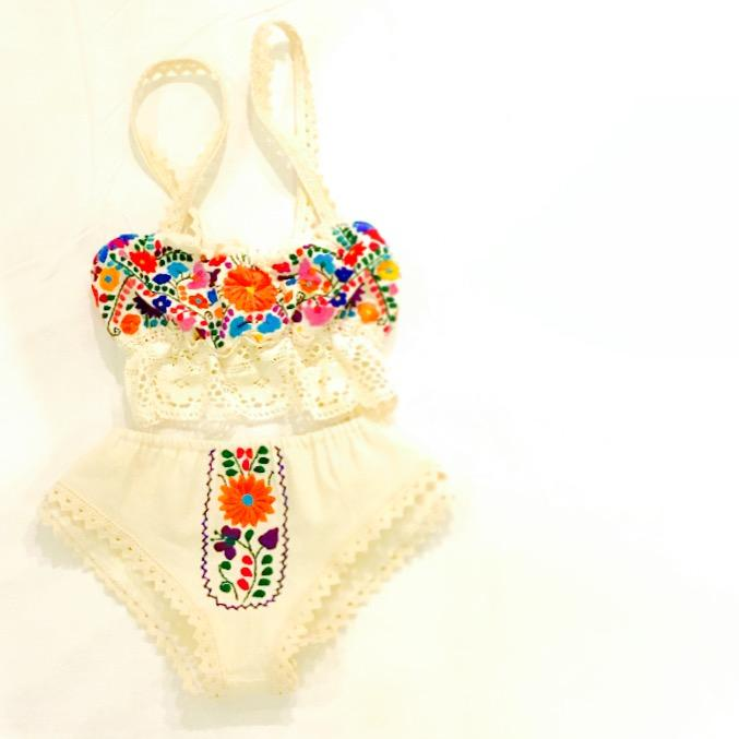Marie Love Mexican Lingerie Embroidered