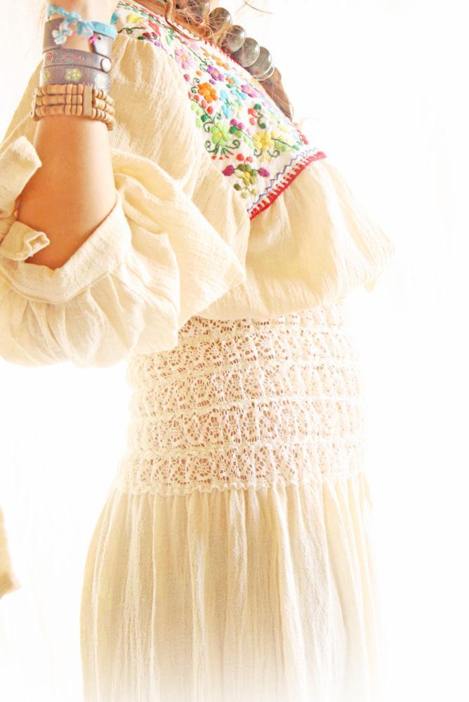 El Encanto Goddess Mexican party wedding maxi dress