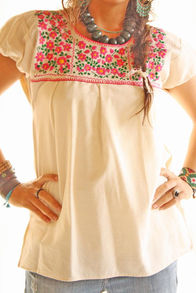 Handmade Mexican embroidered dresses and vintage treasures from ...