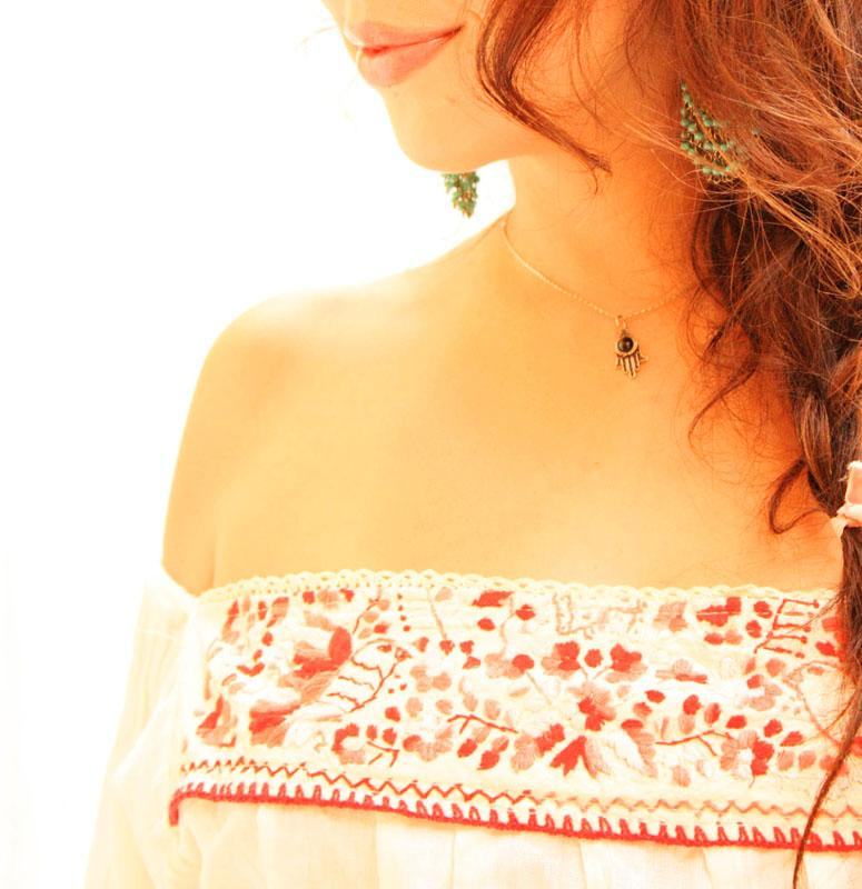 Paloma long bell sleeve convertible blouse mini dress