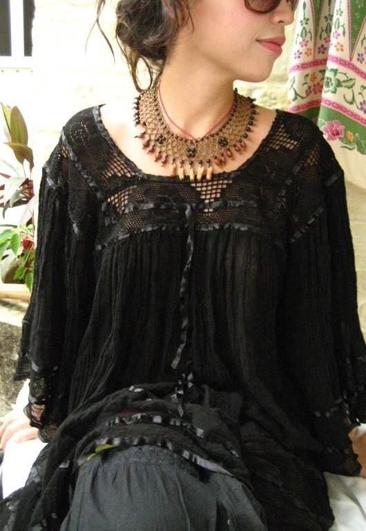 Mexican Dress Mini Dress Blouse