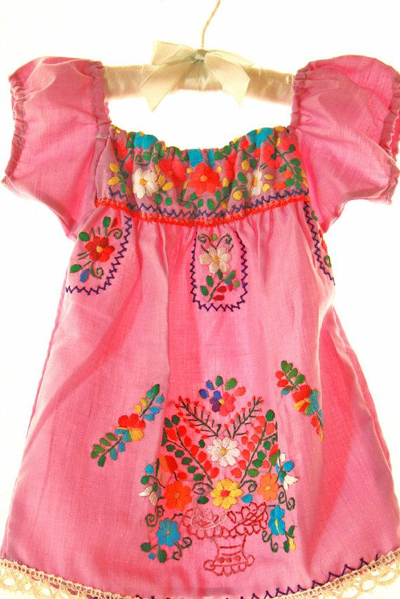 64e4bf3a9b0 Handmade Mexican embroidered dresses and vintage treasures from Aida ...