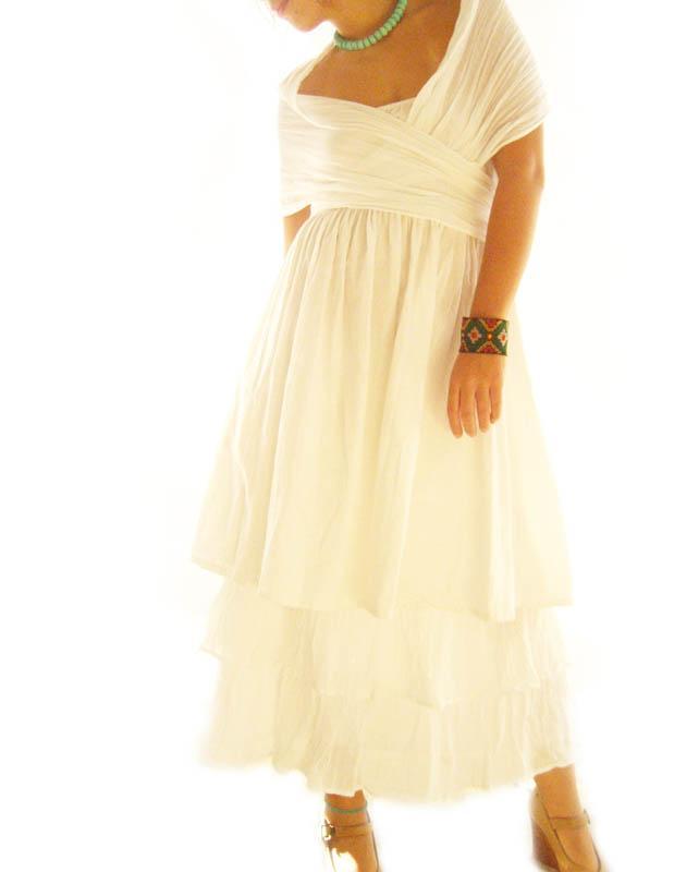 Luna Dreams Romantic convertible ruffles wedding dress