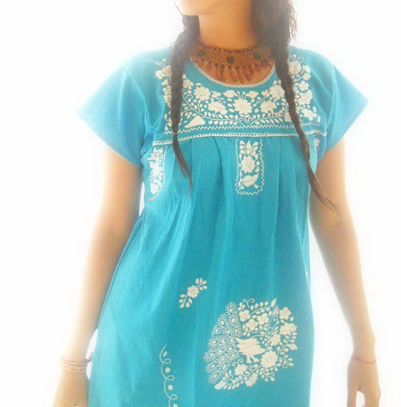 Sayulita Ocean Hip 1960 Mexican dress