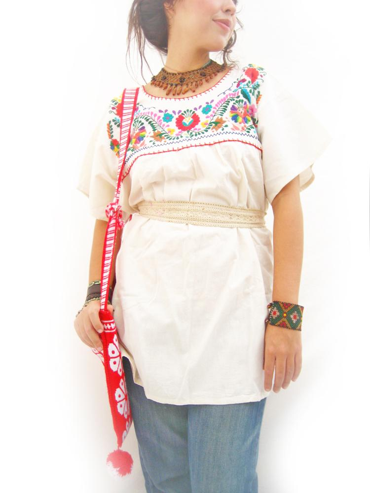 Fridas Garden embroidered blouse