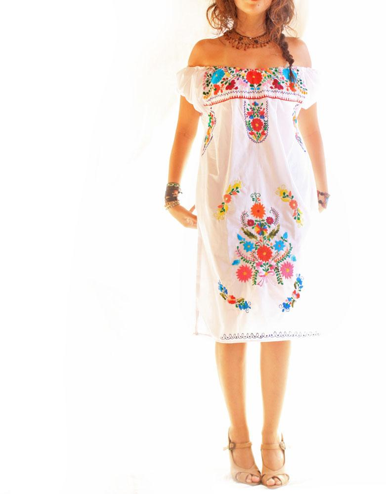 New Some Mexicanstyle Dresses For Women Are Huipils, Jalisco Dresses  Huipils Feature Distinctive Embroidered Designs That Indicate The Wearers Community In Addition, Some Huipil Designs Convey The Marital Status Or Personal Beliefs Of