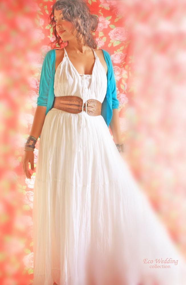 Brida Boho Maxi dress