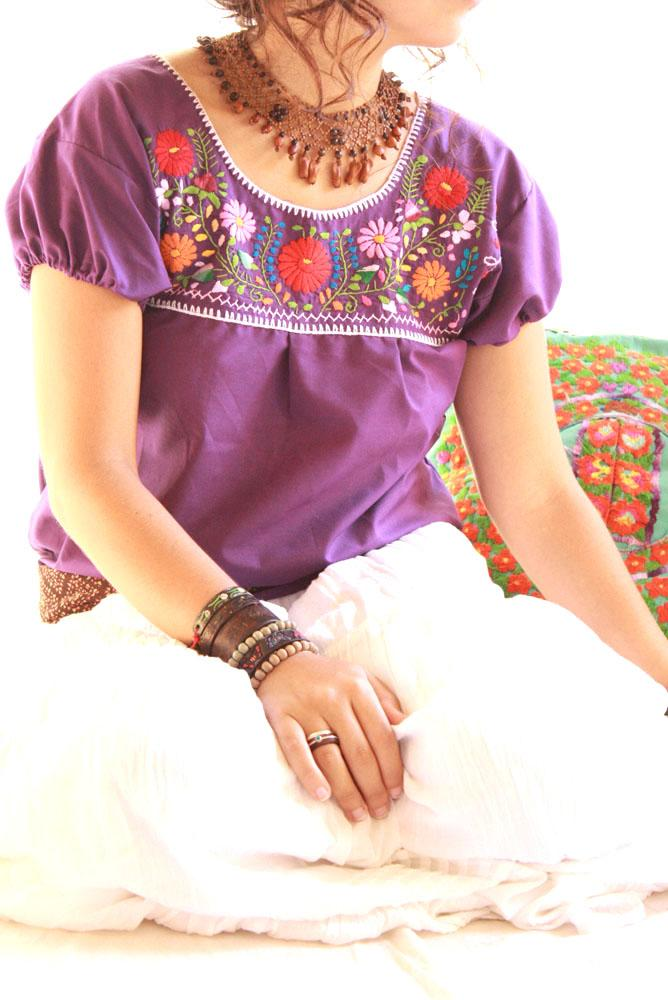 Mexican Blouse Embroidered