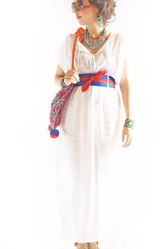 Beach cover long camisole boho gauze maxi dress
