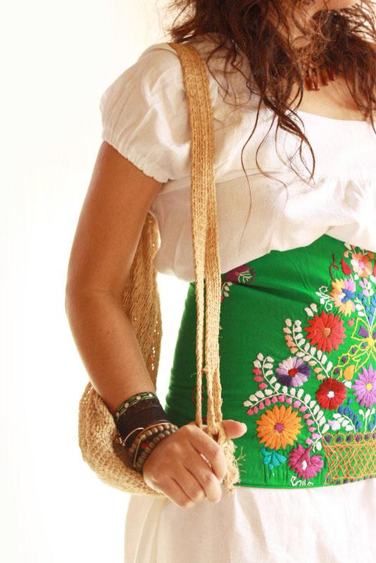 Mexican Embroidered Blouses