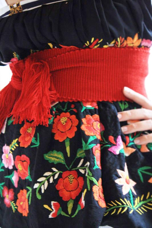 Handmade Mexican Dress From Aida Coronado Frida Kahlo