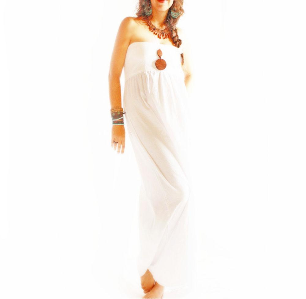 Angeles Mexican dress Peace nature lover Maxi dress