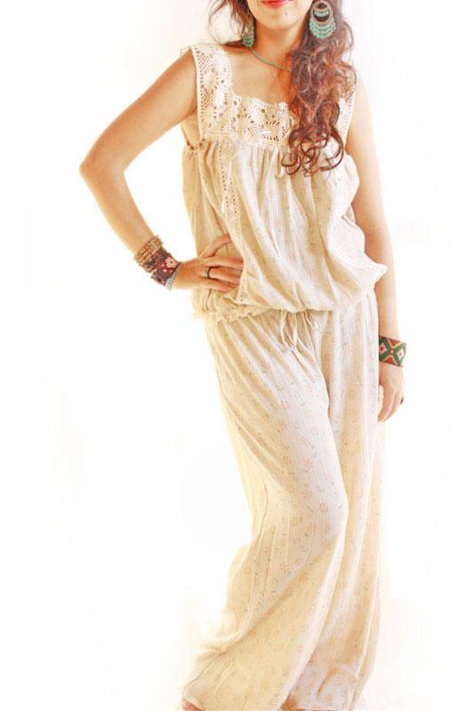 Agustina Mexican vintage style sleepwear