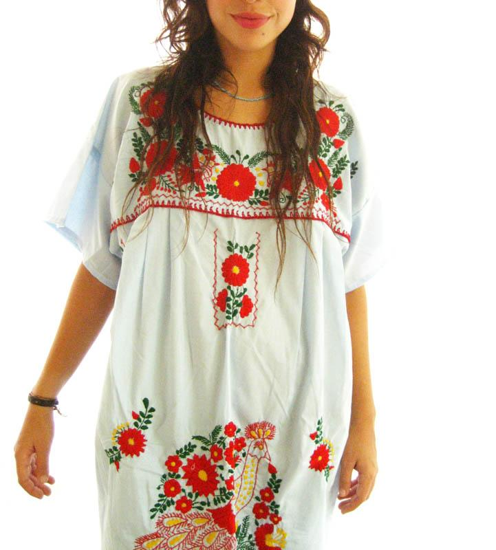 The Mexican Dress Tunic Love in the Sky