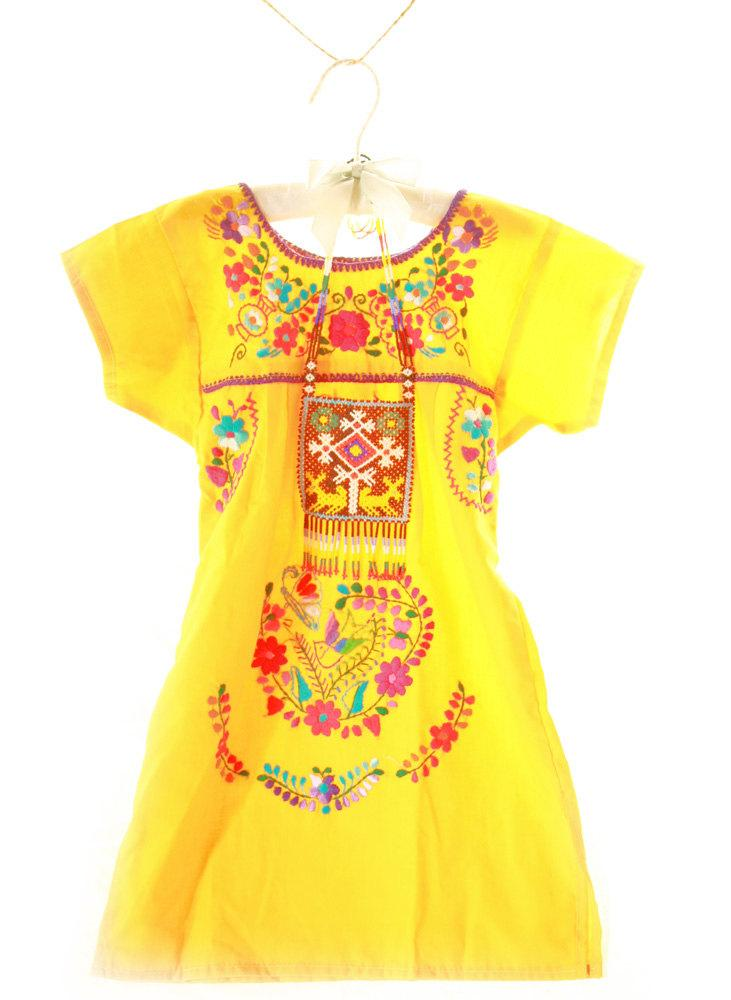 El Sol Baby ethnic Mexican dress