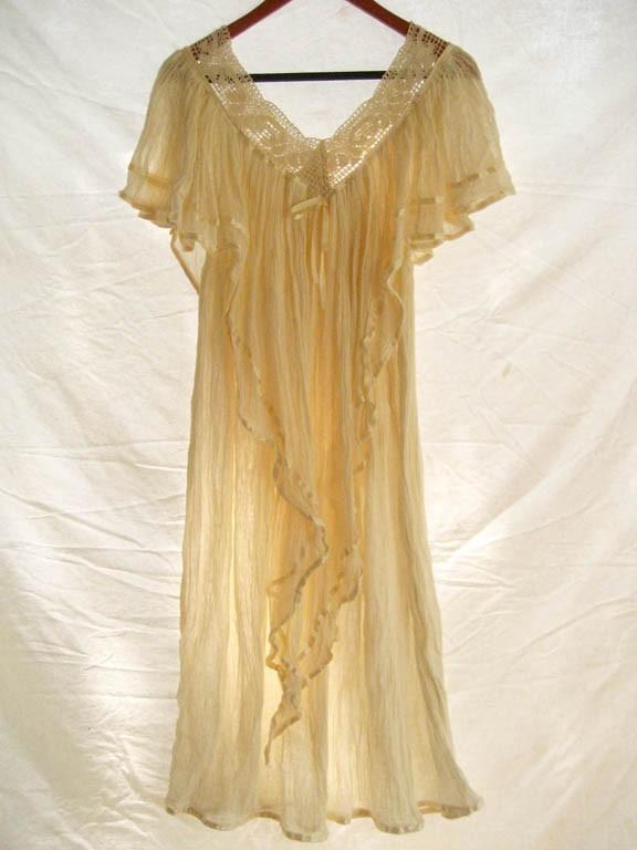 Mexican Dress Angel Bohemian chic crochet gauze