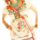 Segunda Mexican embroidered blouse