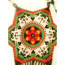 Mexican Alegria Necklace - authentic huichol art