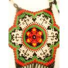 Mexican Alegria Necklace - authentic huichol art