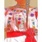 La Celebracion Mexican fine embroidered Blouse
