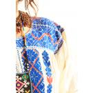 Azure Moon embroidered ethnic blouson