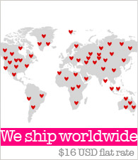 We ship worldwide !